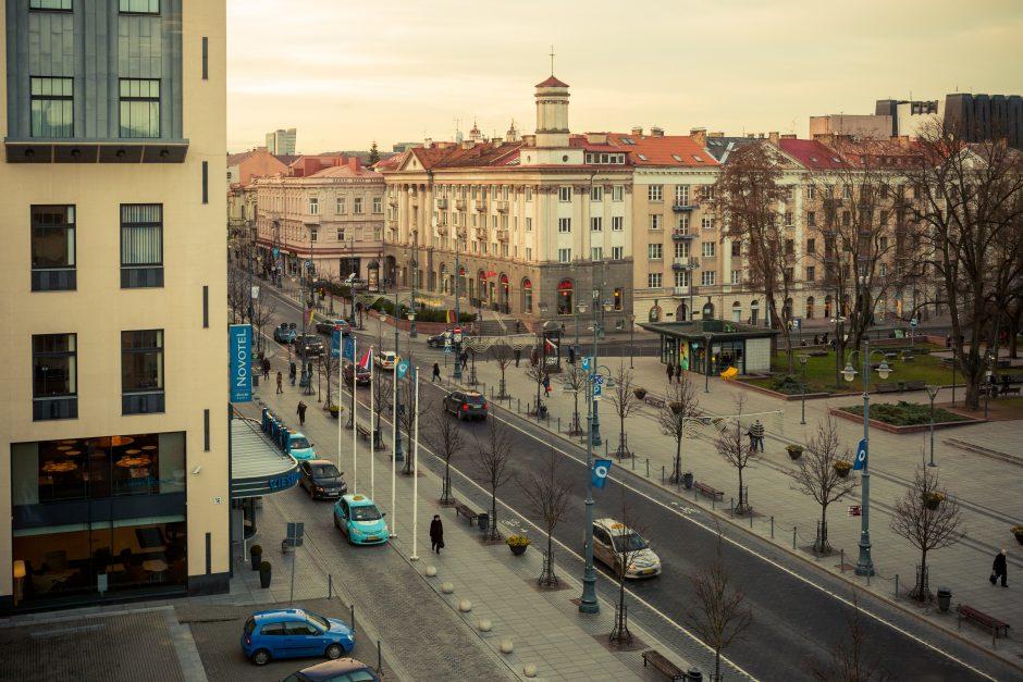 Lapkričio 28–29 dienomis miesto centrinėje dalyje bus ribojamas eismas (schemos)