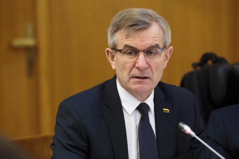 V. Pranckietis atsakymų apie situaciją žemės ūkyje tikisi iš Prokuratūros