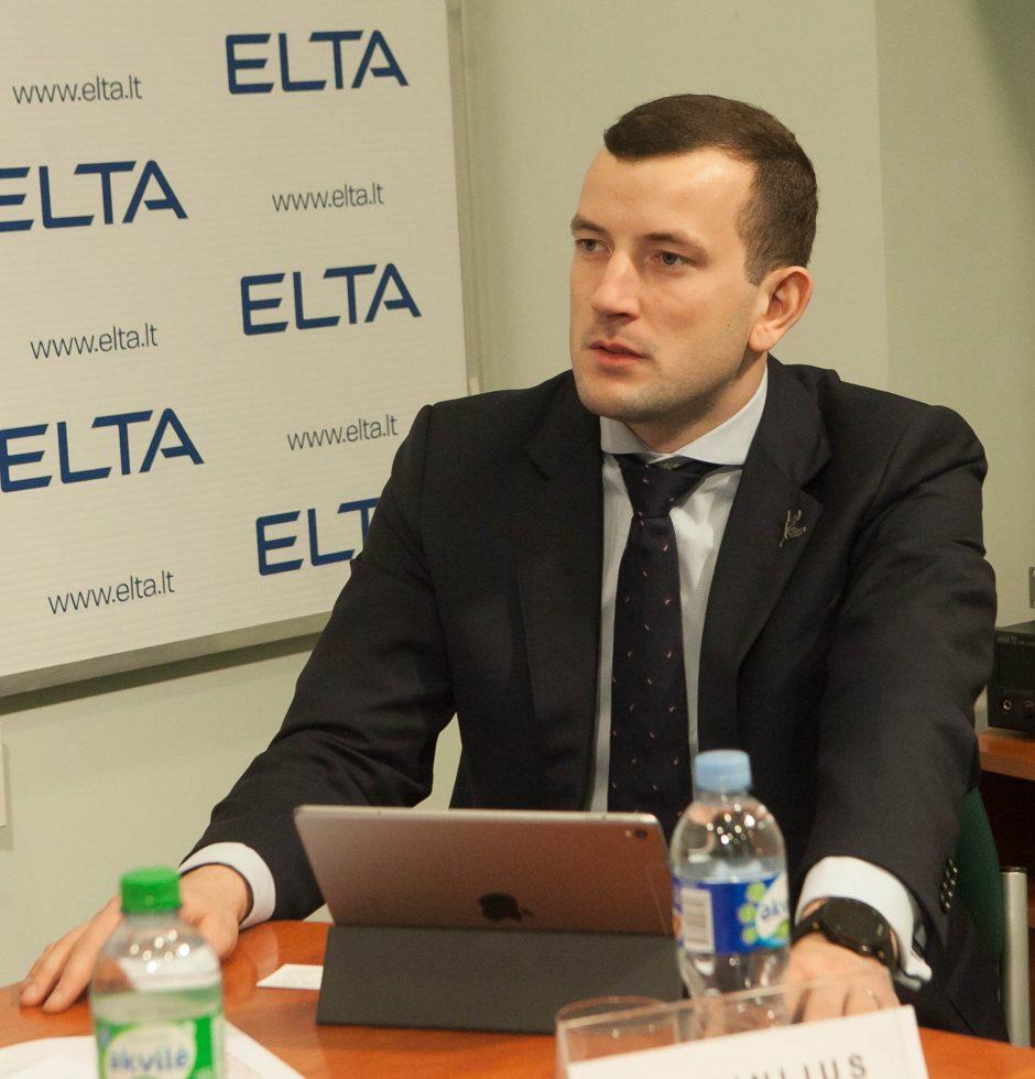 V. Sinkevičius: interesų konfliktas man negresia (interviu)