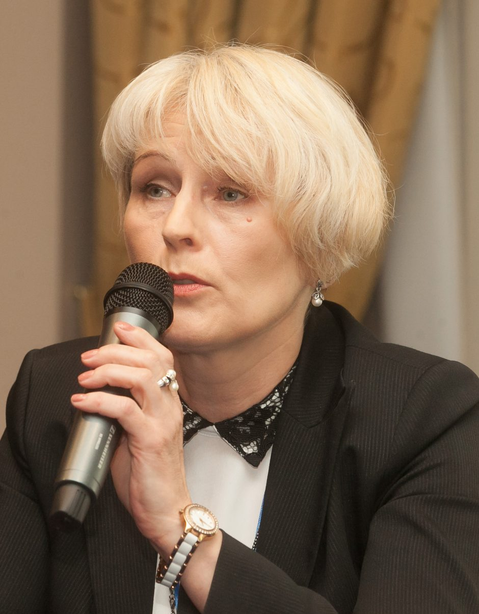 Spaudos, radijo ir televizijos rėmimo fondo tarybai vadovaus V. Žukienė