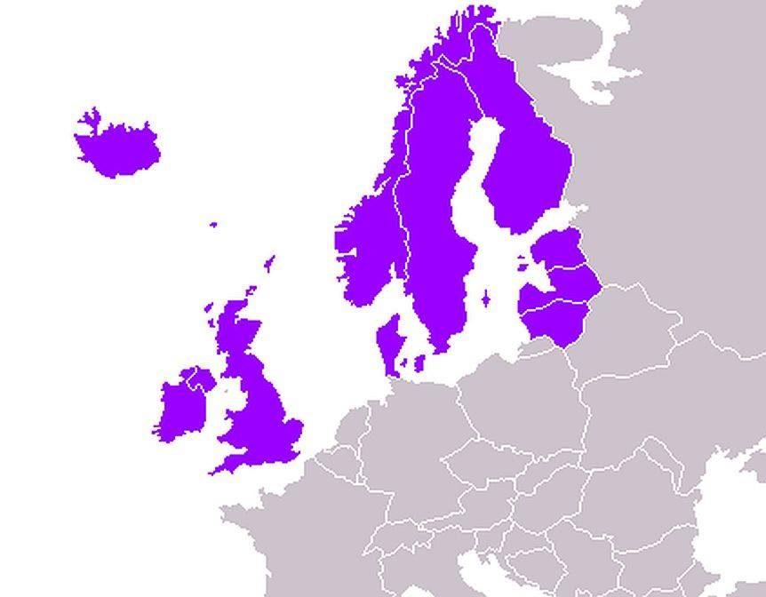 """Mes nebe """"rytų europiečiai"""": Lietuva priskirta Šiaurės Europai"""