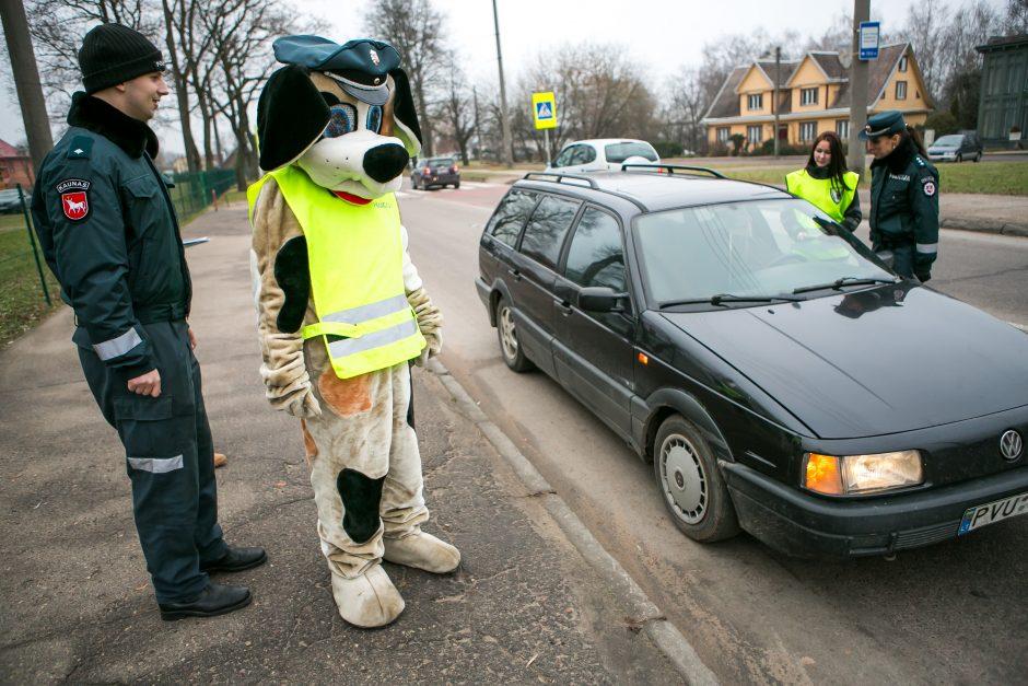 Kauno vairuotojai sulaukė staigmenos