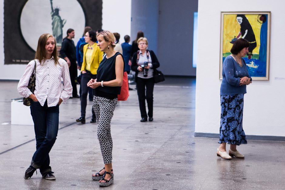Moterų parodos dalyvės primena: mene ne tik vien vyrai