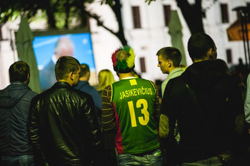 Europos krepšinio čempionato aistros išjudino Kauną