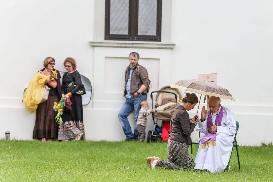 Žolinių šv. mišios Pažaislio vienuolyne