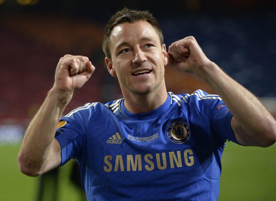 "Po sezono J. Terry paliks Londono ""Chelsea"""