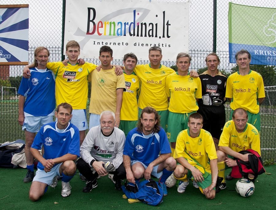 Kaune - benamių futbolo turnyras