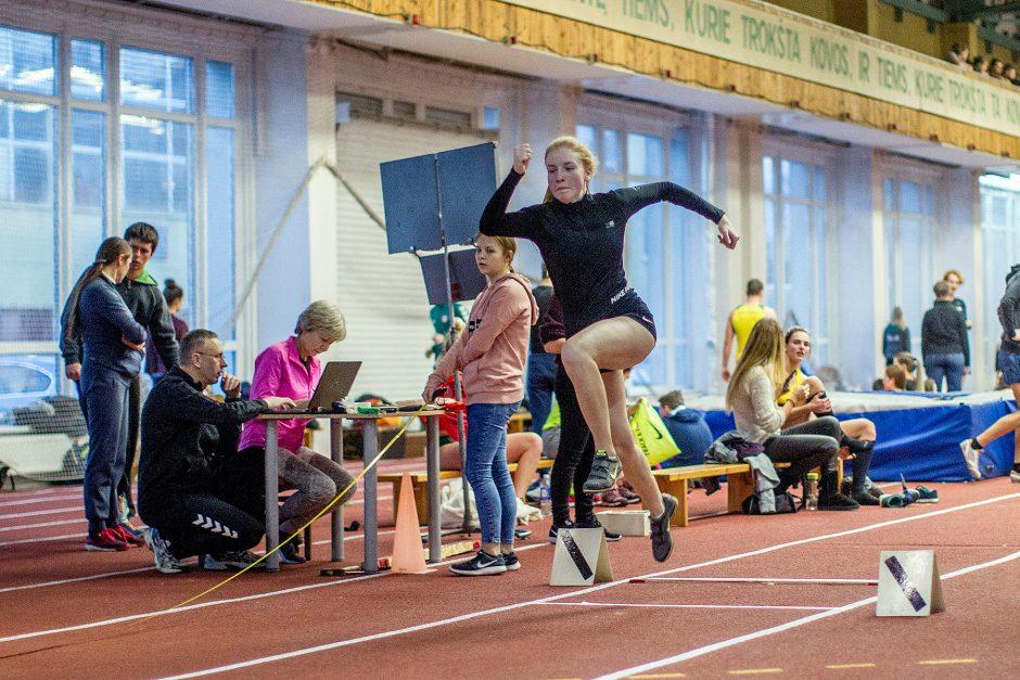 L. atletika. Kauno čempionatas. 2 diena