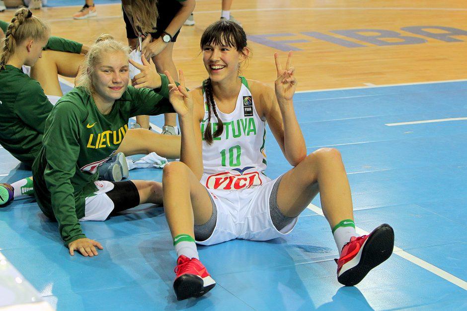 Kontrolinės. Lietuva U16 – Prancūzija U16 53:57