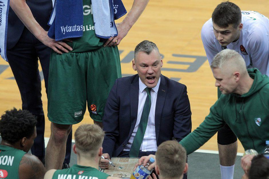 Š.Jasikevičius: laimėjome krisdami ant kiekvieno kamuolio