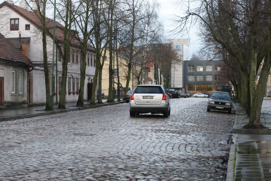 Puodžių gatvės remontas atidėtas