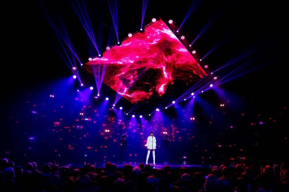 """Pirmasis nacionalinės """"Eurovizijos"""" atrankos pusfinalis"""