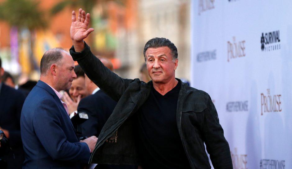 Prokurorai aiškinsis, ar apkaltinti S. Stallone lytine prievarta