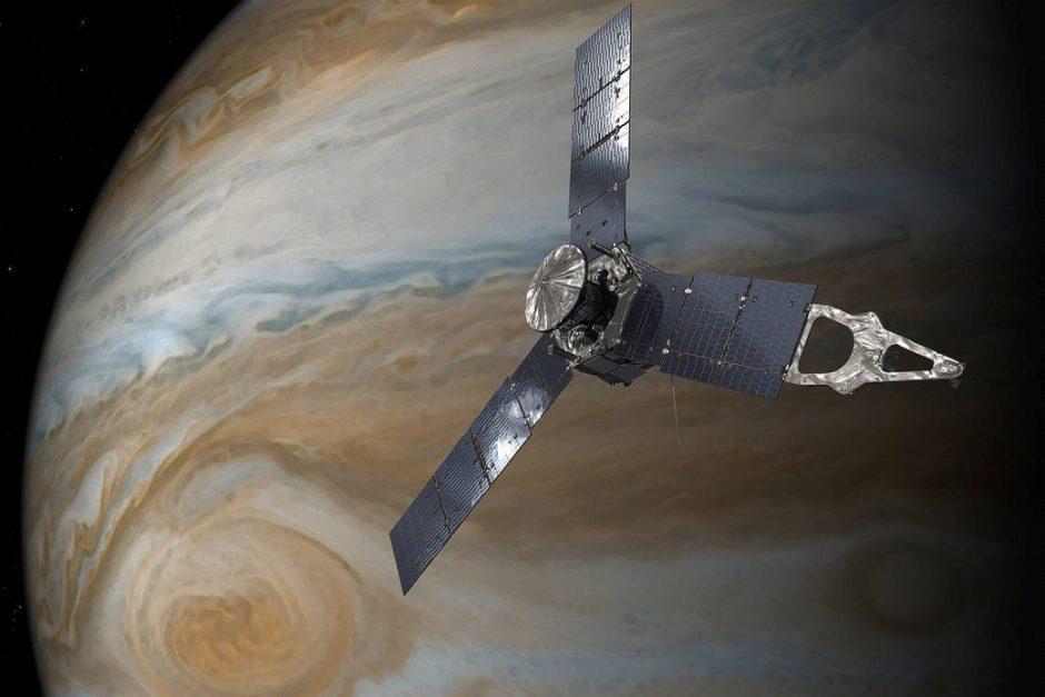 Jupiteris ir Venera prasilenkia netoli vienas kito