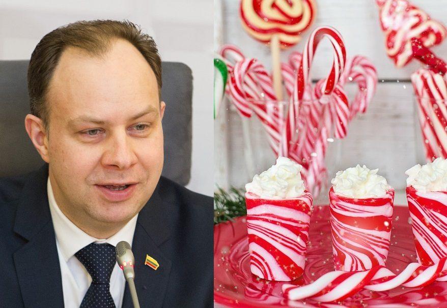 Po bandymo iš vaikų pavogti Kalėdas, A. Veryga raudonuoja