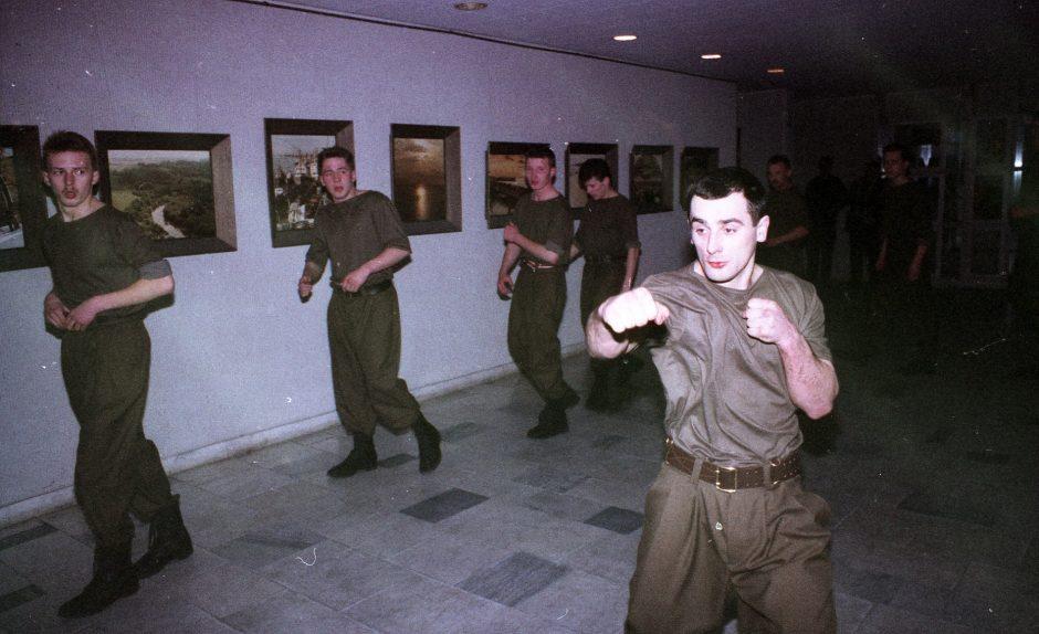 """""""Spec. Žvėryno"""" vadas: per sausio įvykius visi buvom permirkę molotovais"""