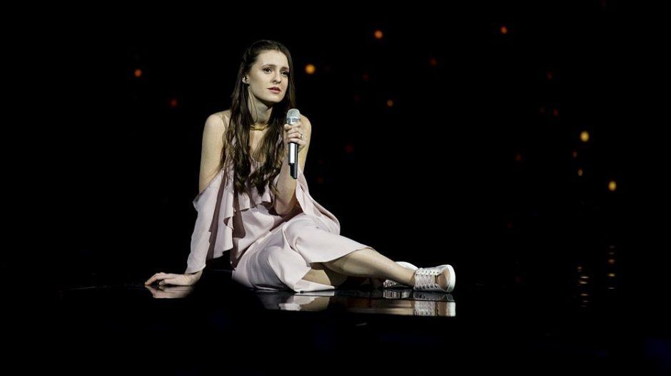 """""""Eurovizijos"""" finalininkė I. Zasimauskaitė – apie batų ieškojimą ir prašymą žiūrovams"""