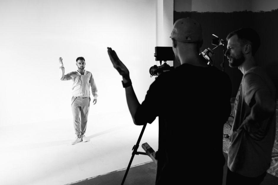 D. Vaitiekūno sceninis alter ego V. Špokaitis pristato pirmąjį vaizdo klipą
