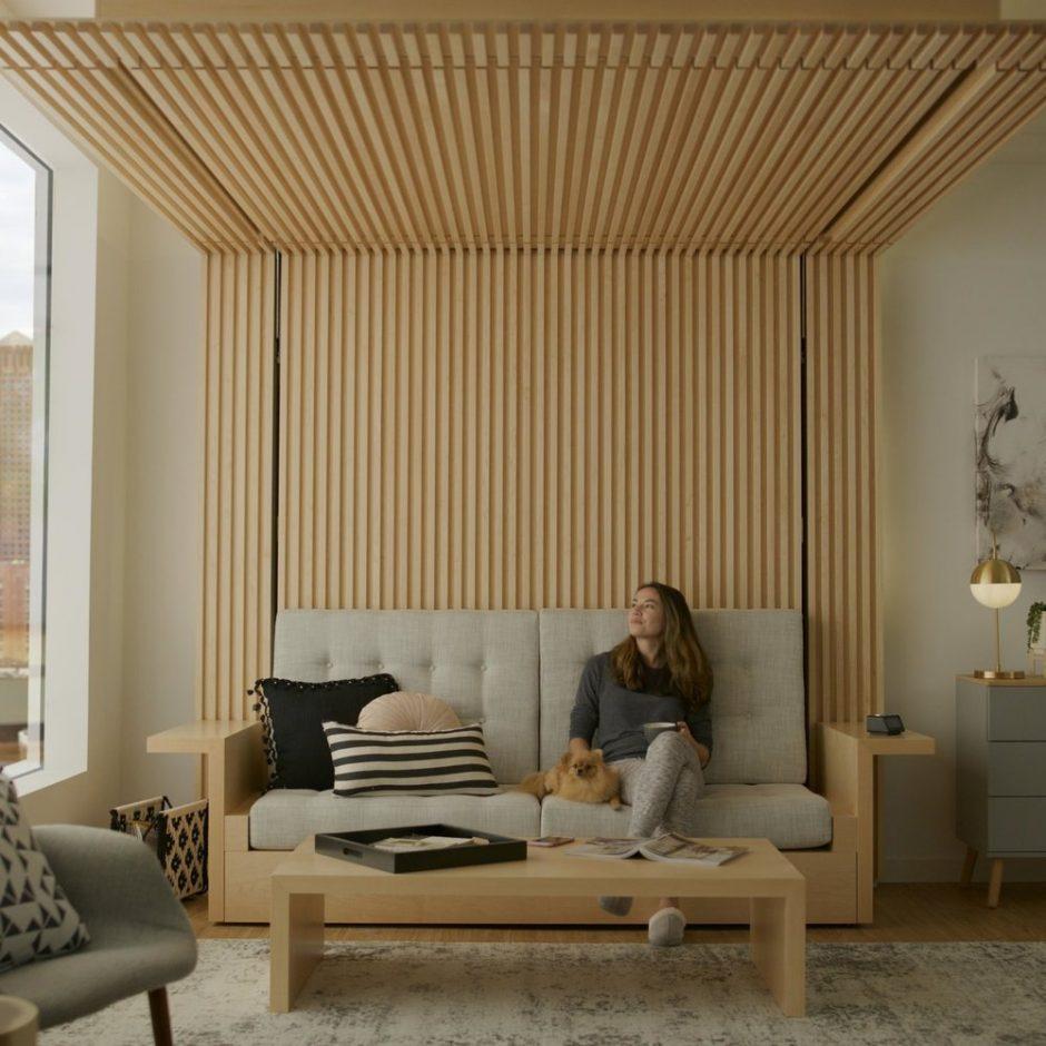 Transformuojamų baldų era: inovatyvūs sprendimai mažoms miesto erdvėms