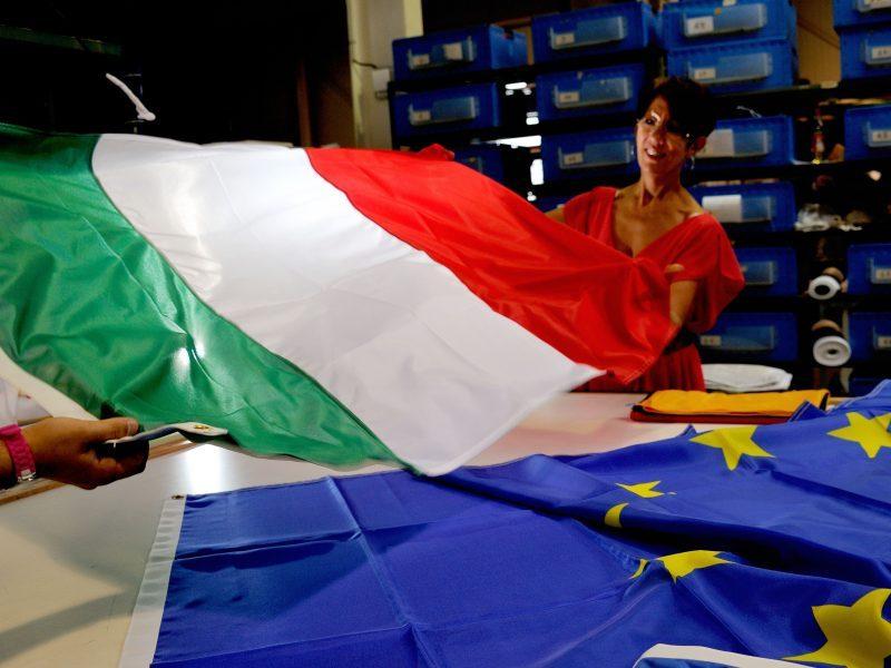 Europos Komisija atmetė Italijos biudžeto projektą