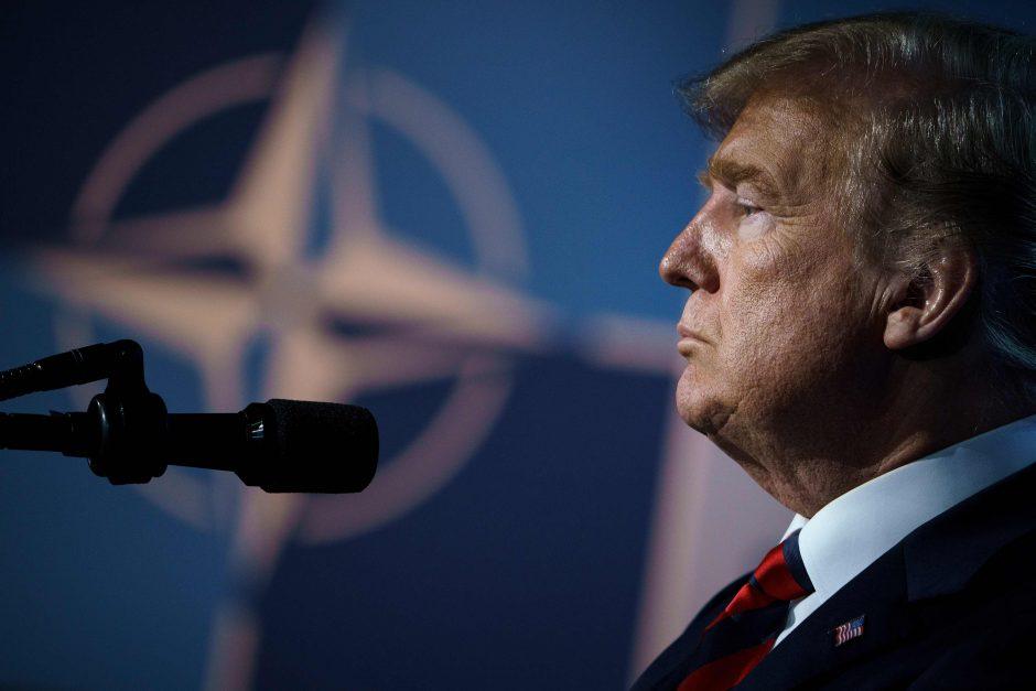 Kremlius pateikė atsaką į D. Trumpo žodines atakas