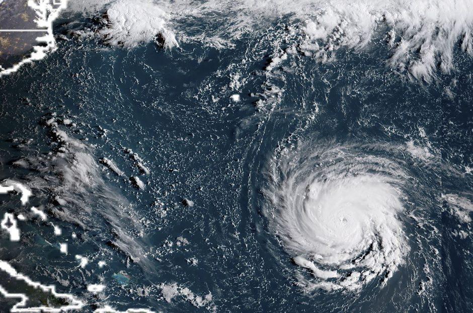 """Uraganas """"Florence"""": dėl grėsmės JAV nurodyta evakuotis milijonui žmonių"""