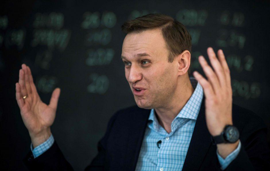 Rusijoje paleistas opozicijos lyderis A. Navalnas