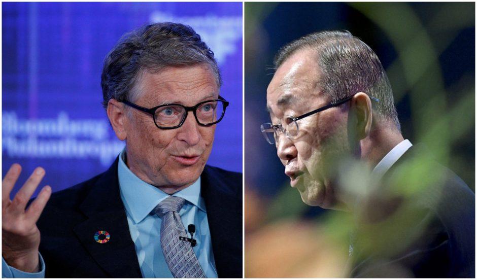 Buvęs JT generalinis sekretorius ir B. Gatesas vadovaus komisijai dėl klimato kaitos