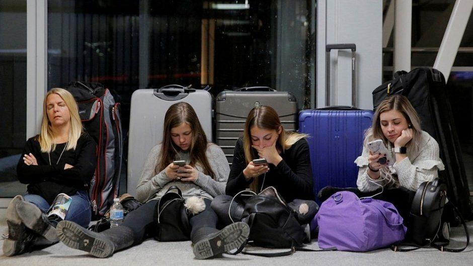 Oro uoste įstrigusiems keleiviams dažniausiai priklauso kompensacija