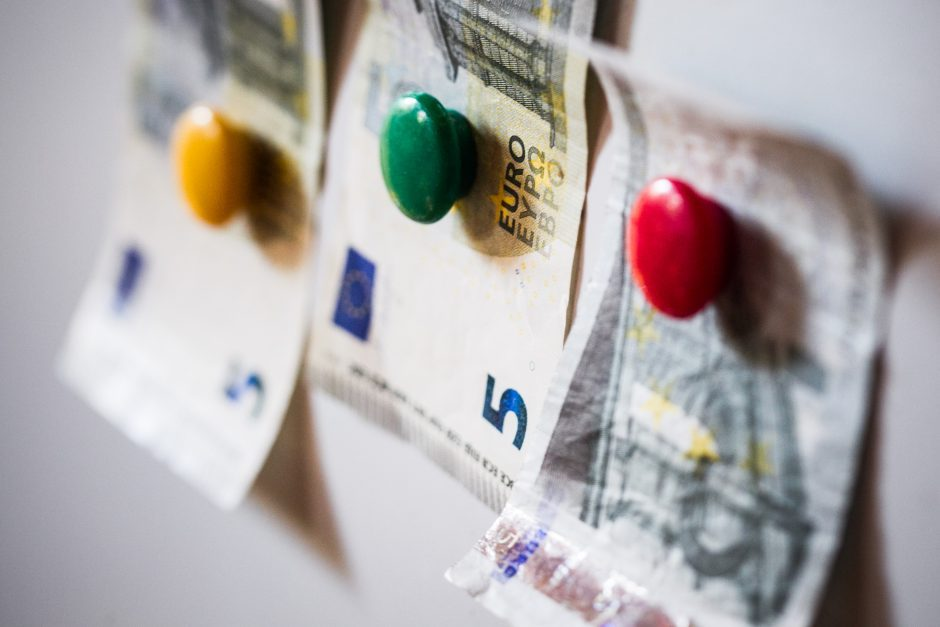 Valstybė ir savivaldybės šiemet gavo 24,2 mln. eurų neplanuotų pajamų