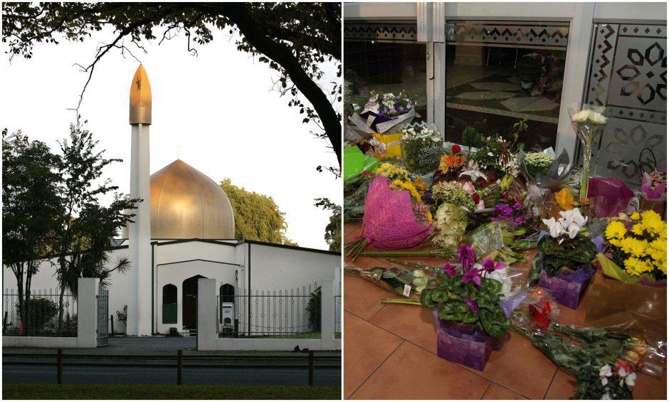 Šaudynės Naujosios Zelandijos mečetėse sukėlė pasibaisėjimą: šalys reiškia užuojautą