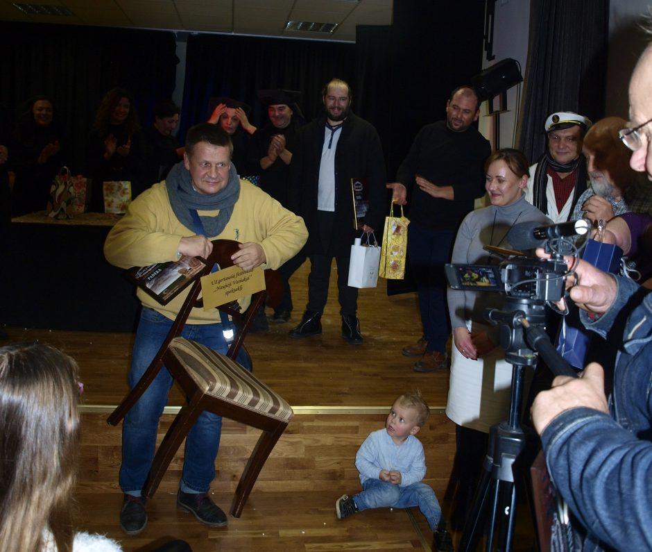 Voškoniai gyveno teatro ritmu