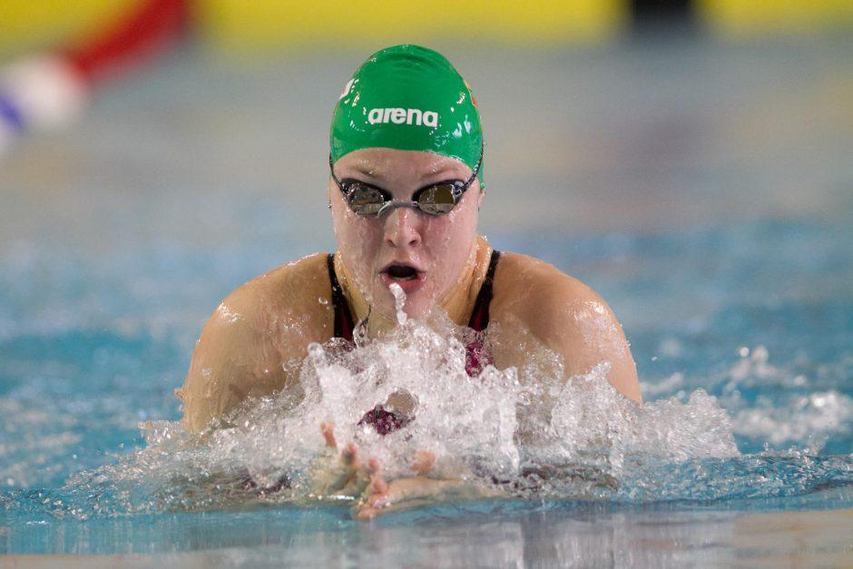 Švedijoje pasisekė ne visiems Lietuvos plaukikams (R. Meilutytė nusprendė neplaukti)