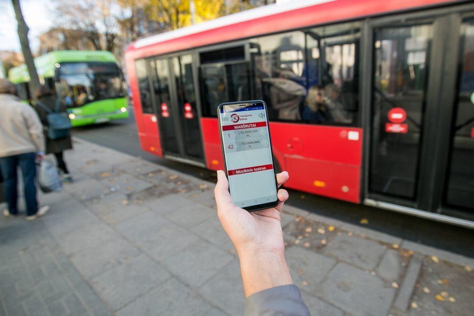 Pristatant naują viešojo transporto programėlę Kaune laukia nuolaidos