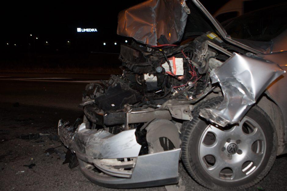 Užkeikta diena magistralėje: panašiu metu – keturios eismo nelaimės