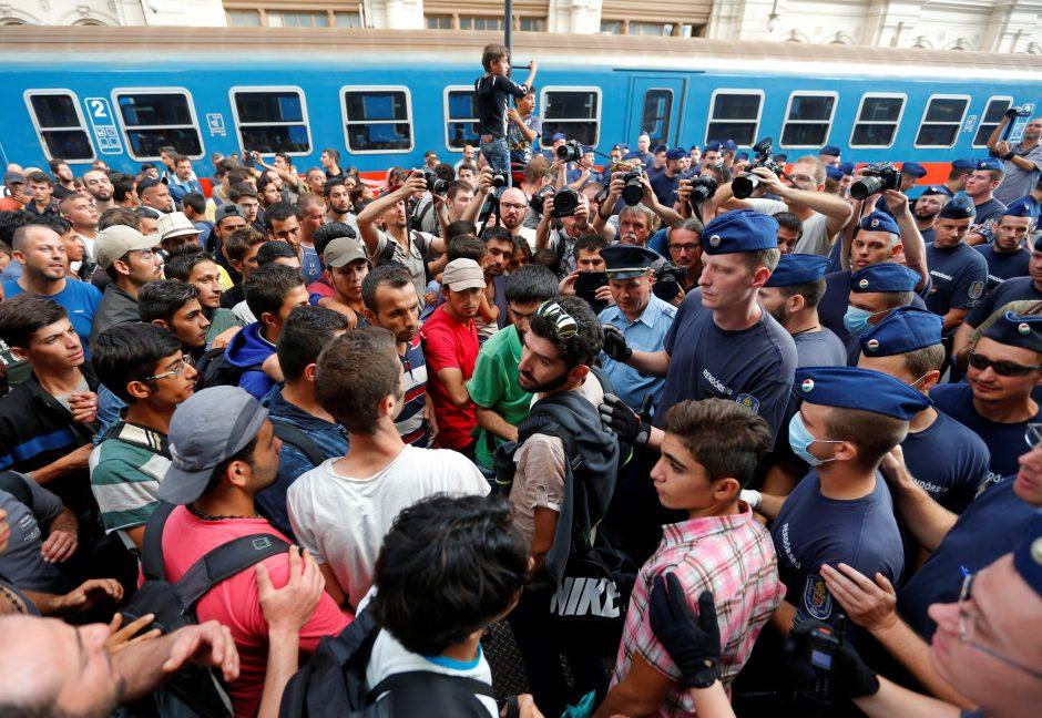 Vengrijos ir Slovakijos skundas dėl privalomo pabėgėlių priėmimo – atmestas