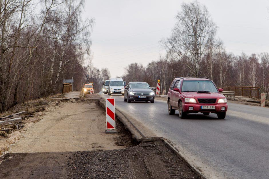 Prasidės Ateities plento viaduko remontas – iki pat rudens bus draudžiamas eismas