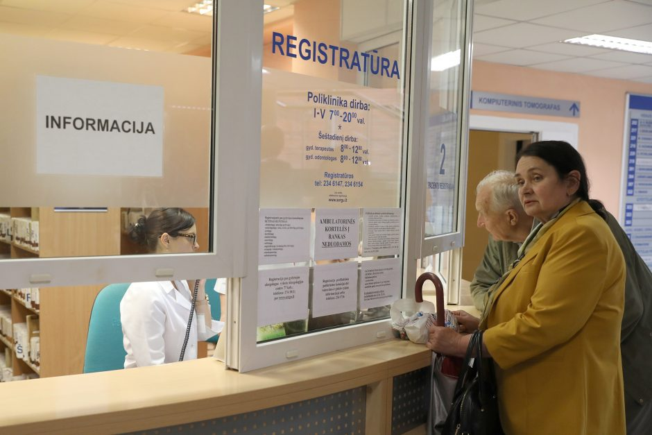 Gripas veja į ligonines: kokių išskirtinių teisių turi pacientai?