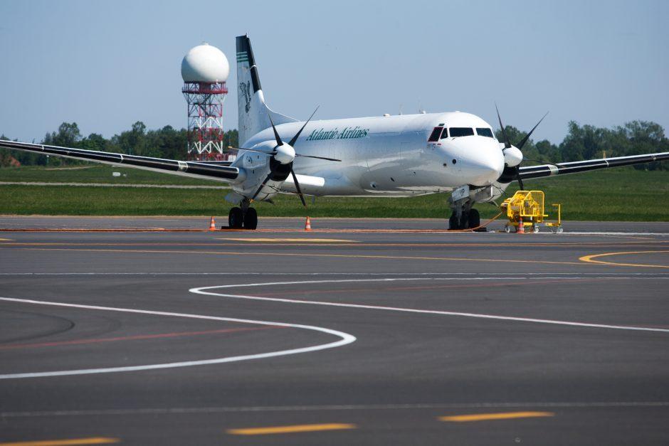 Vilniaus oro uoste nusileido bandymų lėktuvas