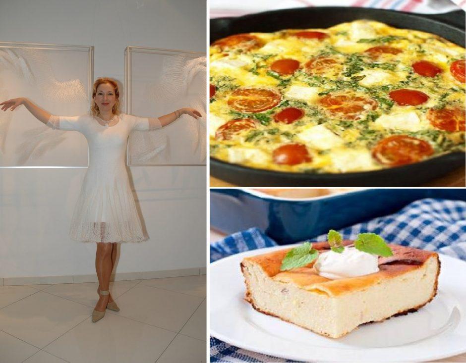 J. Šmidtienę vyras lepina sekmadienio pusryčiais (receptai)