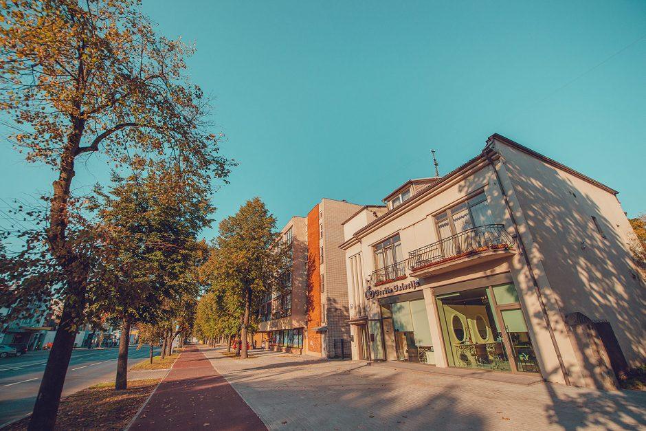 Ilgiausioje Kauno gatvėje – naujas dviračių takas