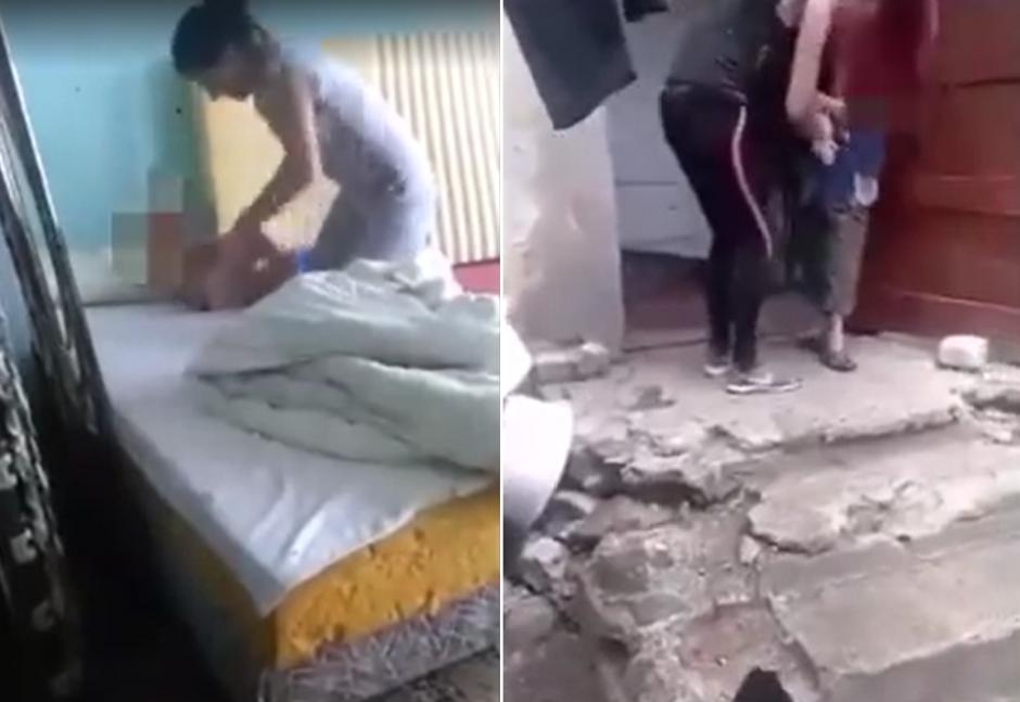 Sukrečiantis motinos smurtas prieš vaikus: talžė ir rankomis, ir kojomis