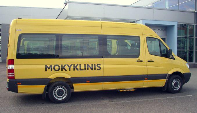 Klaipėdos moksleiviams – naujas autobusas