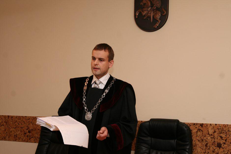 Teisėjų taryba patarė atleisti uostamiesčio teisėją A. Saulėną iš pareigų