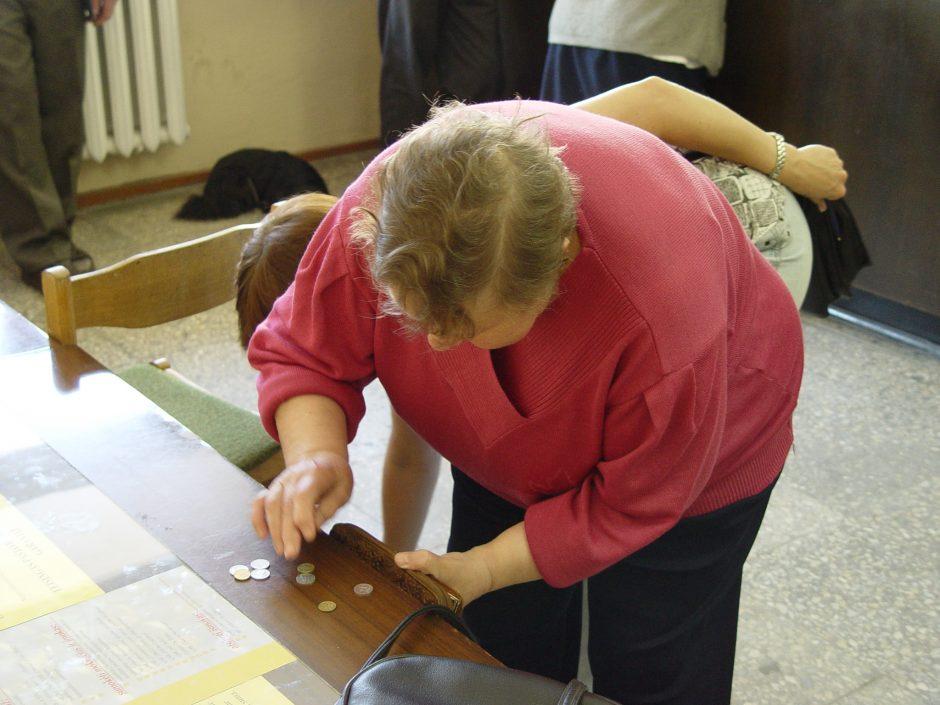 Uostamiesčio senoliai pasigedo pensijų