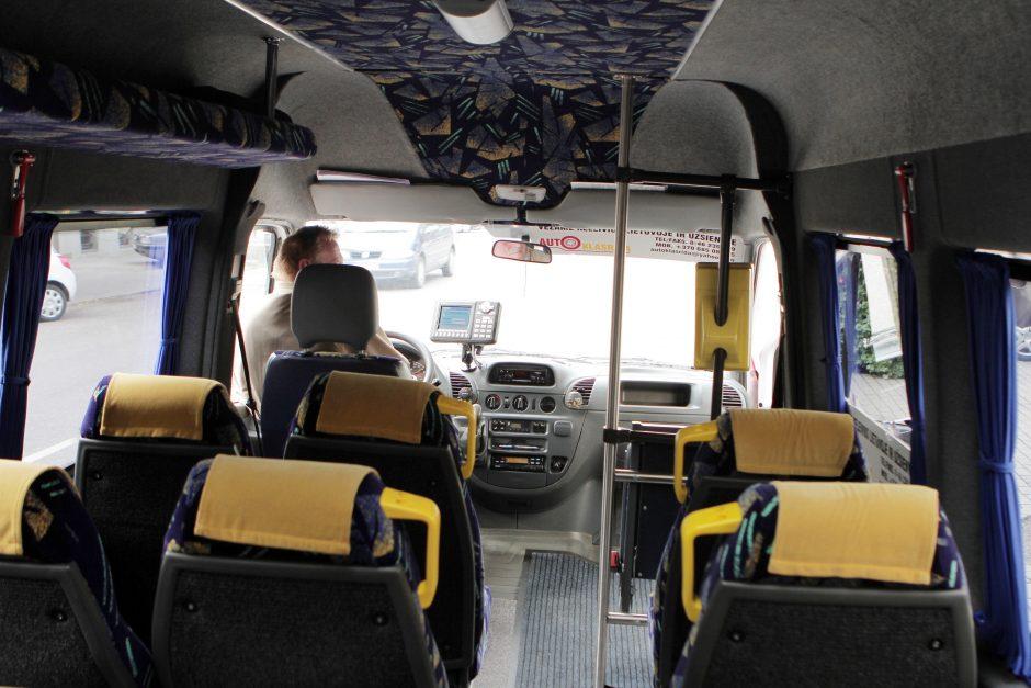 Rinkos išlaisvinimas baugina keleivių vežėjus