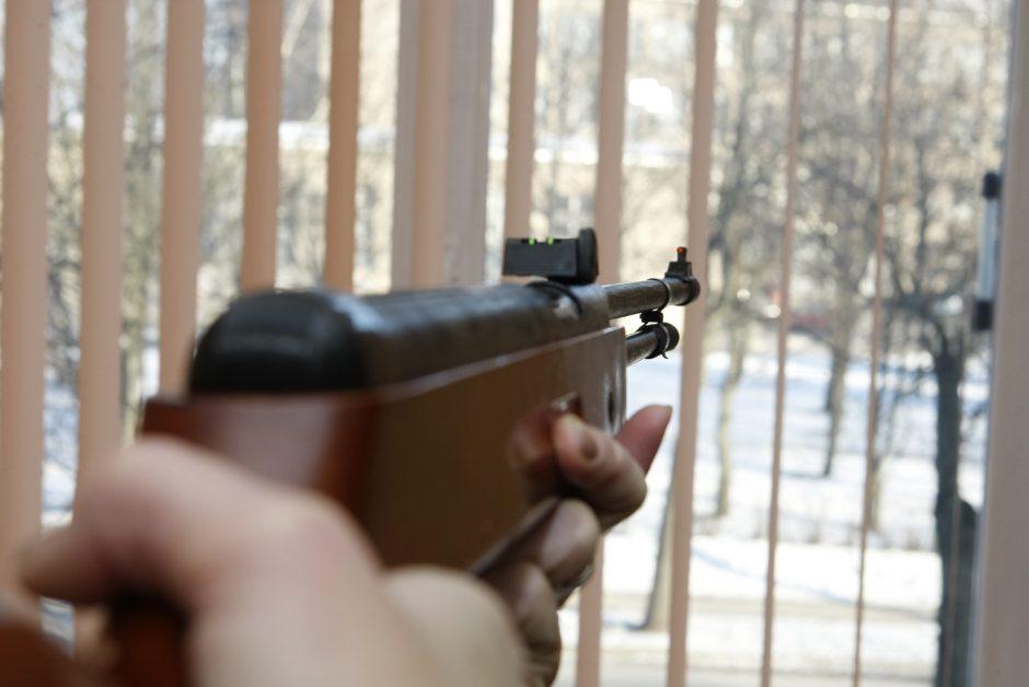 Kiek Klaipėdoje yra ginklų, nežinia