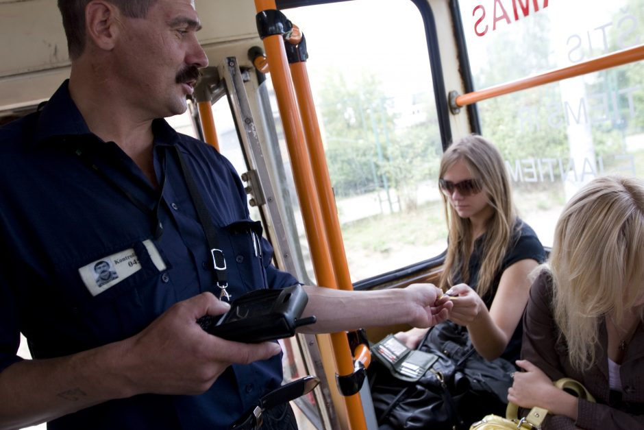 Autobusuose – nauja