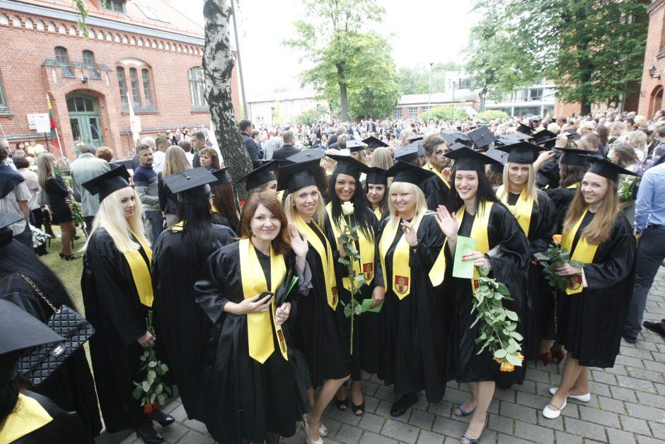 Klaipėdos universiteto absolventai stiprina ryšius