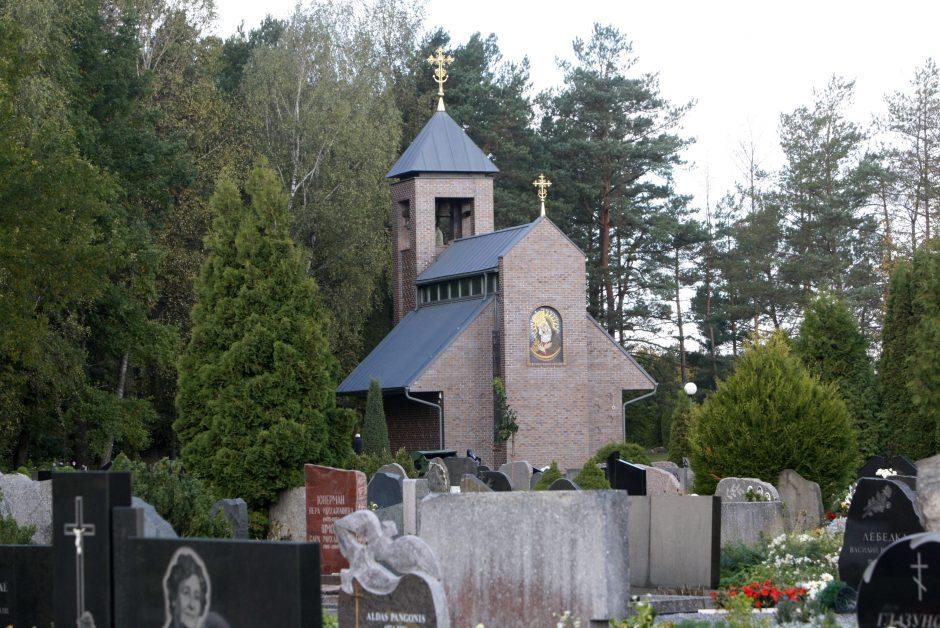 Lėbartų kapinės liko be elektros